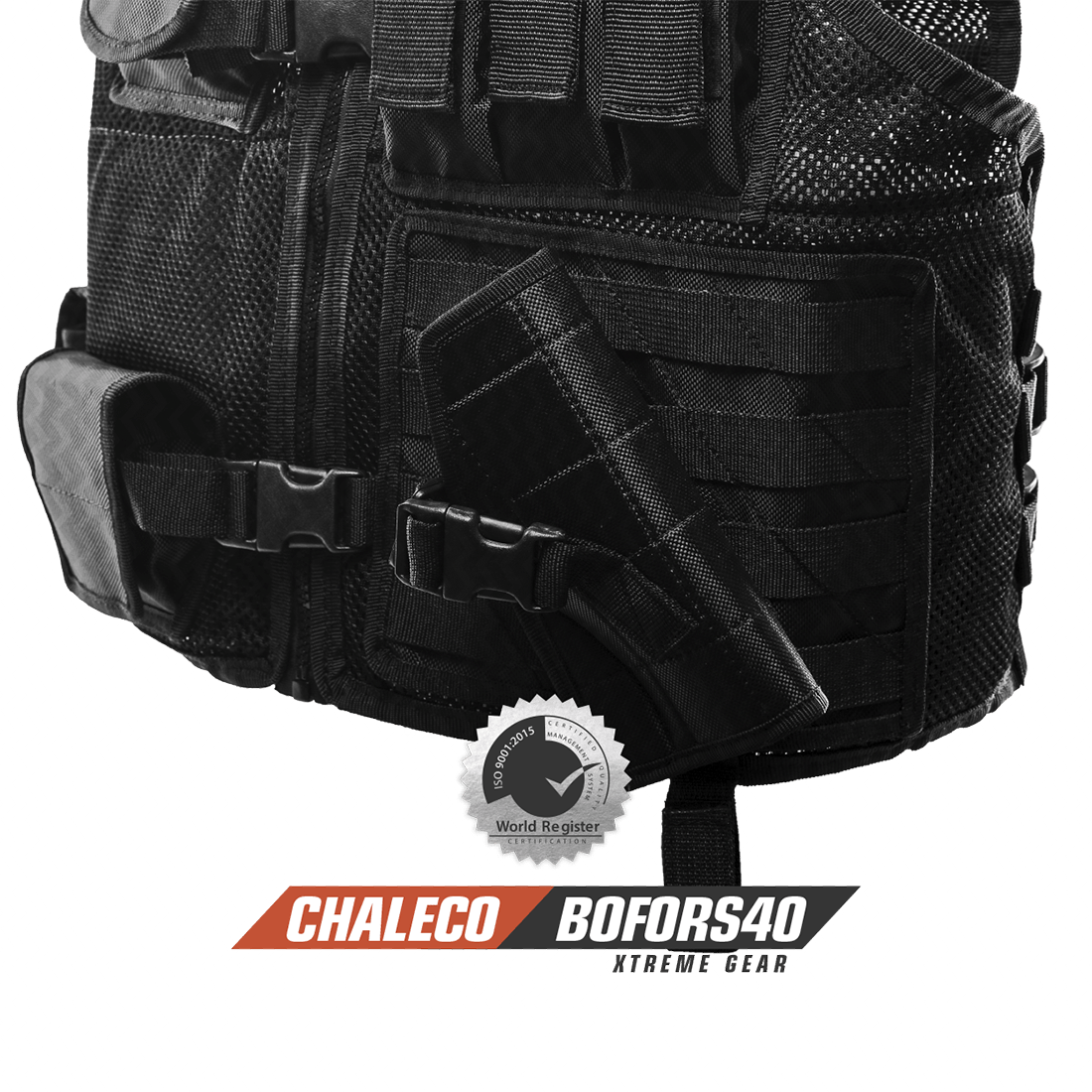 Chaleco Bofors40 Arvak Tactical