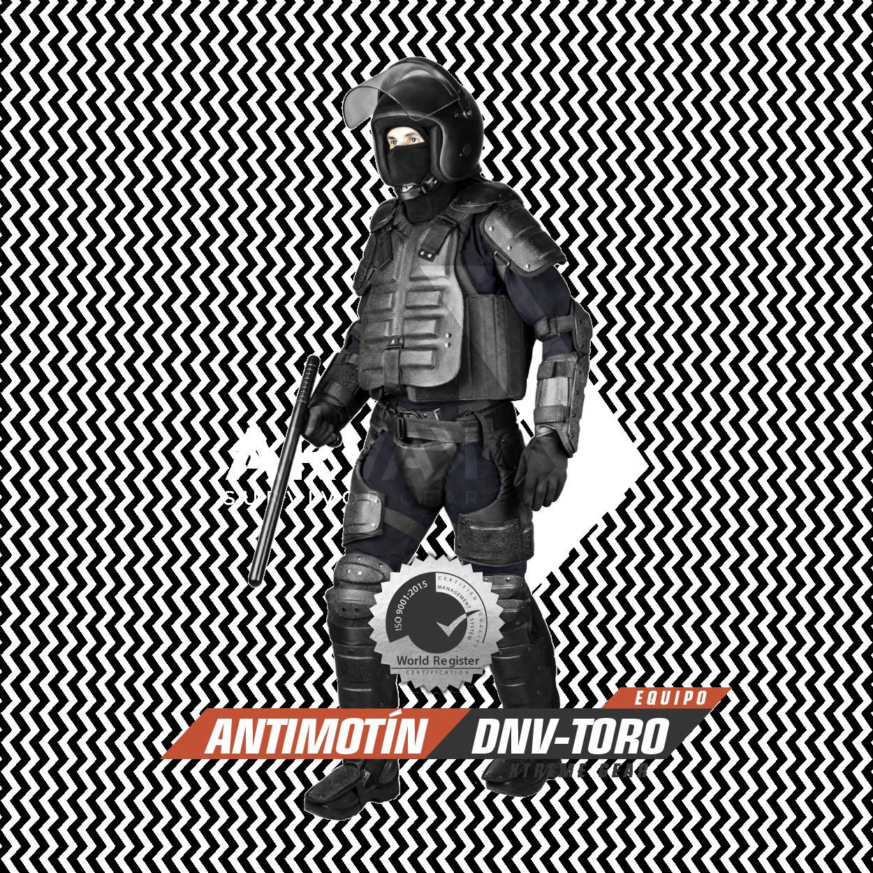 Equipo Antimotín DNV-Toro Arvak Tactical