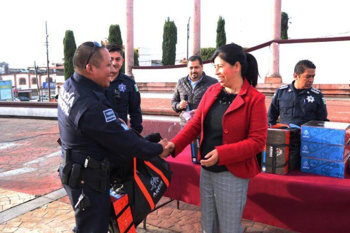 Temoaya comprometido con Seguridad Pública