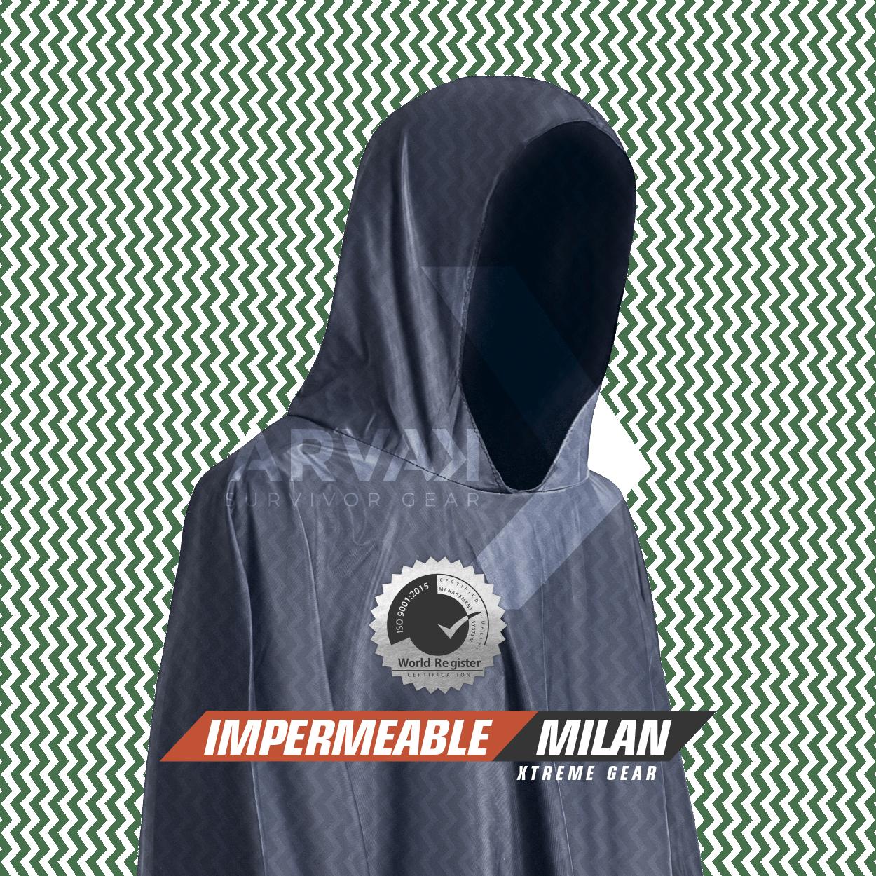 Impermeable Milán Arvak Tactical
